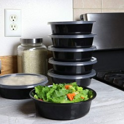 32 Oz. Food Bowl with Lid (150 Sets) | R-1100
