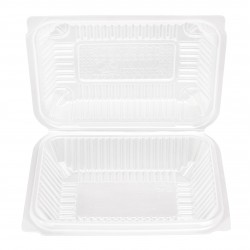 Food Container with Hinged Lid (600 Pcs) | BX-150