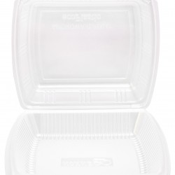 Food Container with Hinged Lid (300 Pcs) | BX-290