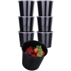 24 Oz. Food Bowl Black (500 Pcs) | JF-30 (BASE)