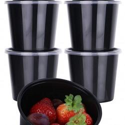 16 Oz. Food Bowl Black (500 Pcs) | JF-20 (BASE)
