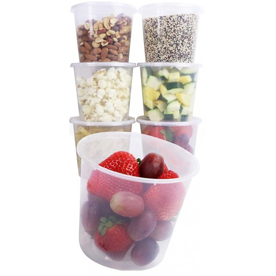16 Oz. Food Bowl Natural (500 Pcs) | JF-20 (BASE)