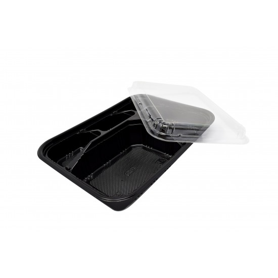 Five Compartment Food Container Lid (600 Pcs) | JLB-5-LID