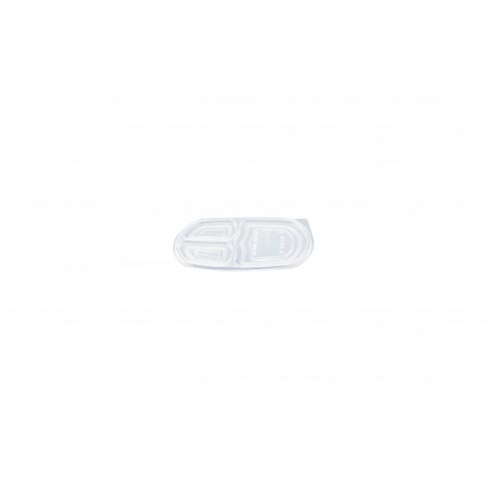 32 Oz. Three Compartment Food Container Lid (400 Pcs) | BX-LB-3C-LID