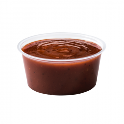 2 Oz. Sauce Container Natural with Lid (2000 Sets) | P-200