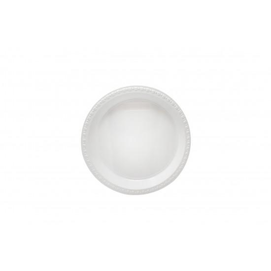 "Party Plate White 9"" (500 Pcs) | PL-AP09"