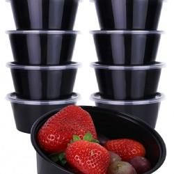 28 Oz. Food Bowl Black (500 Pcs) | R-1000 (BASE)
