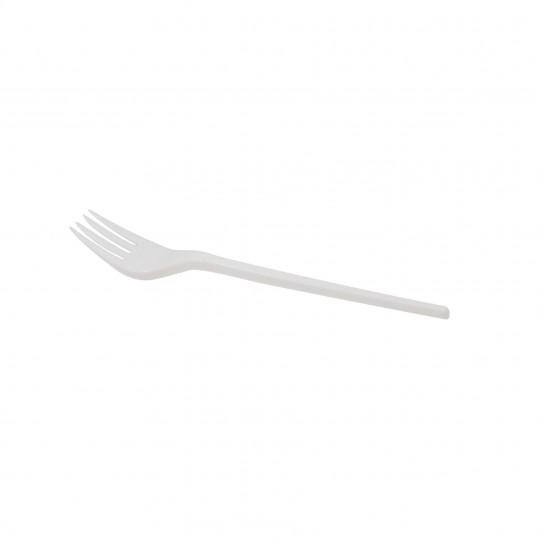 Party Fork White (2000 Pcs) | FK-168